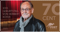 "10er Block Standardbrief ""100. Geburtstag Herbert Köfer"" - 2021"